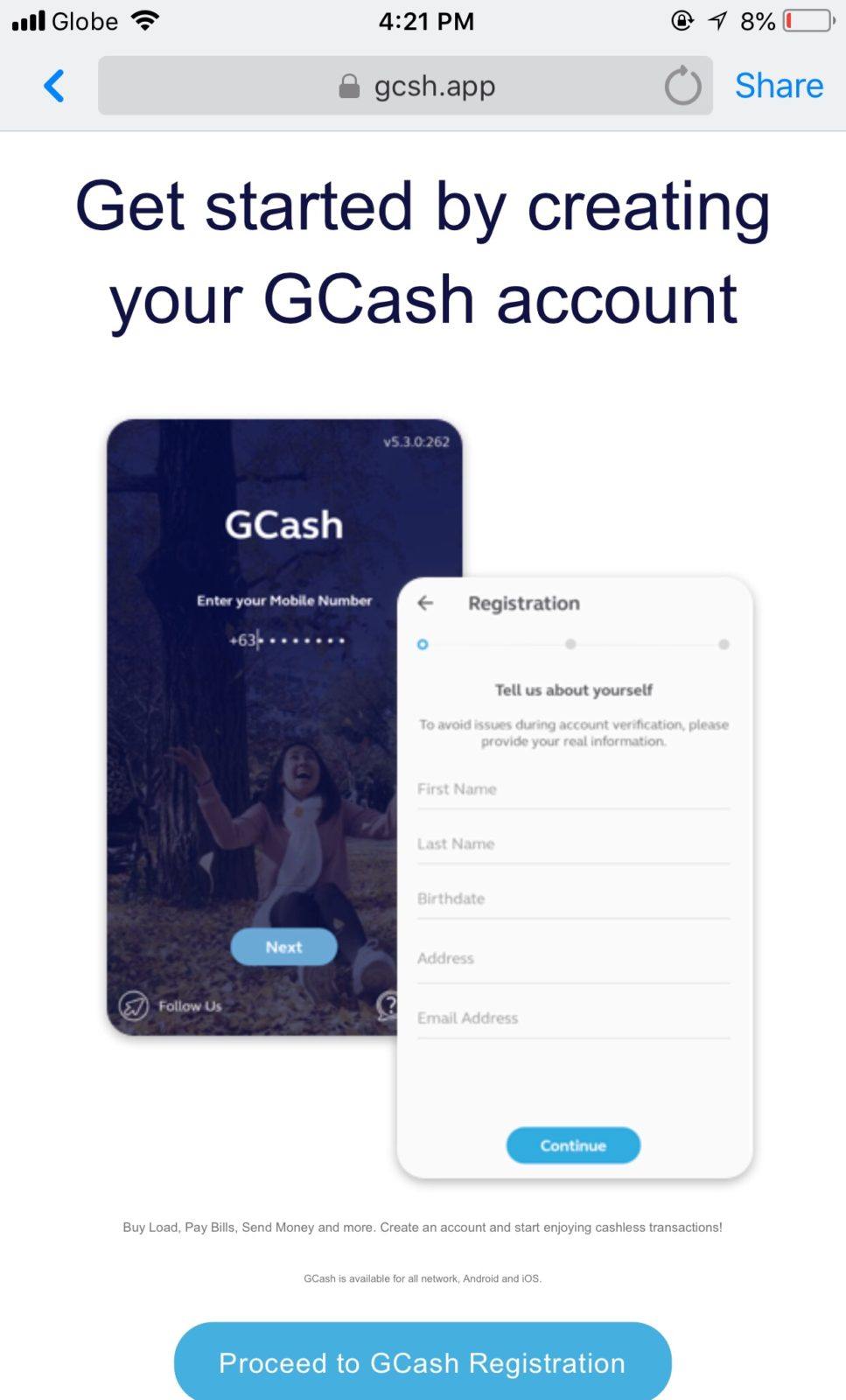How I started my Gcash account! | Dabudgetarian