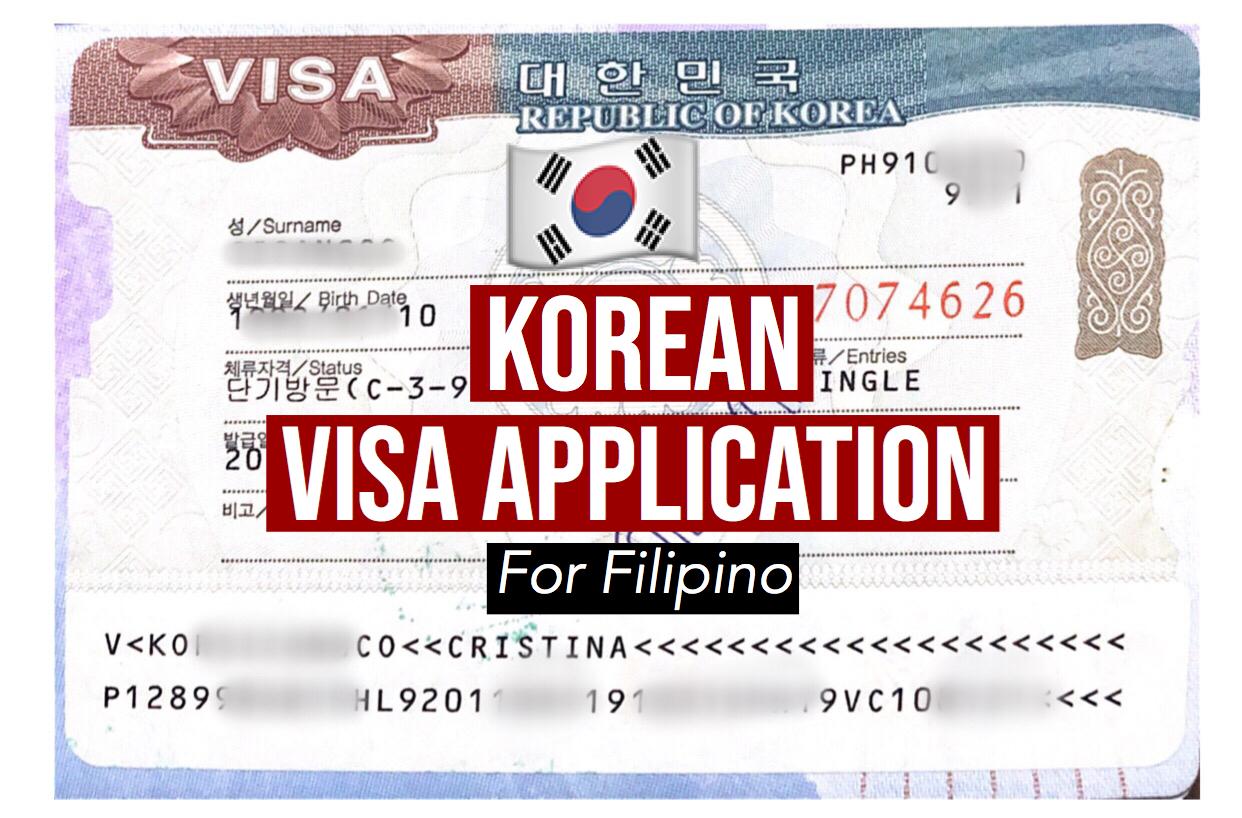 Korean Visa Application Process And Requirements Dabudgetarian